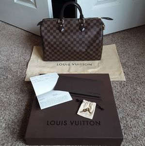 ❤ Louis Vuitton DE Speedy …